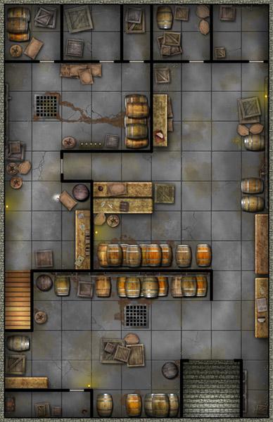 SEG Inn for RPG - cellar basement