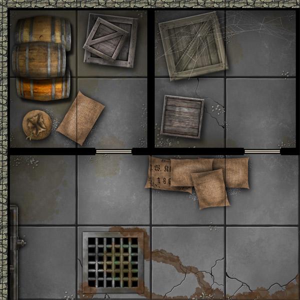 SEG Inn for RPG - cellar detail